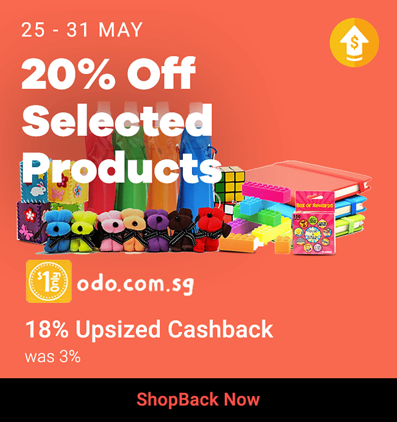 One Dollar Only_Upsize_25 May-31 May 2020