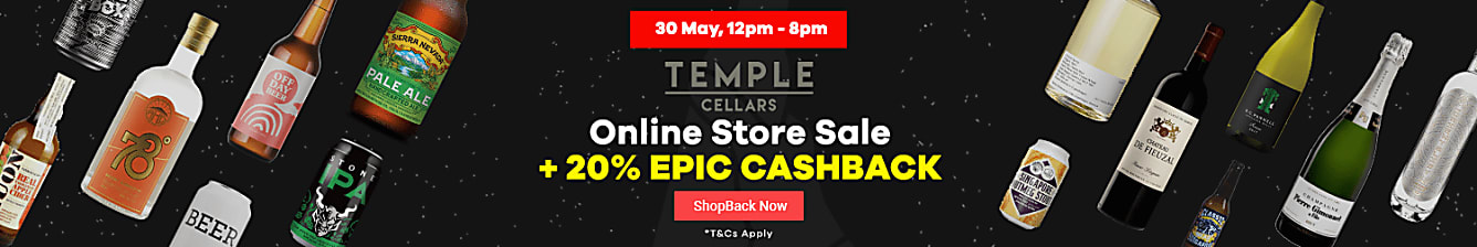 Temple cellars unlock cashback
