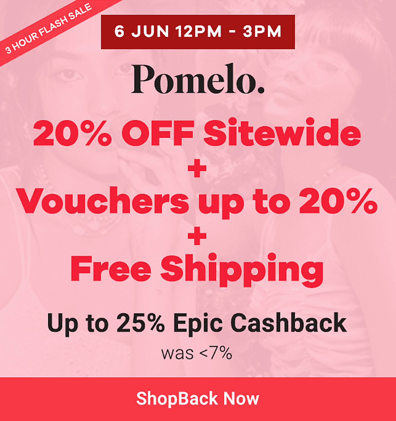 pomelo fashion up to 25% epic cashback