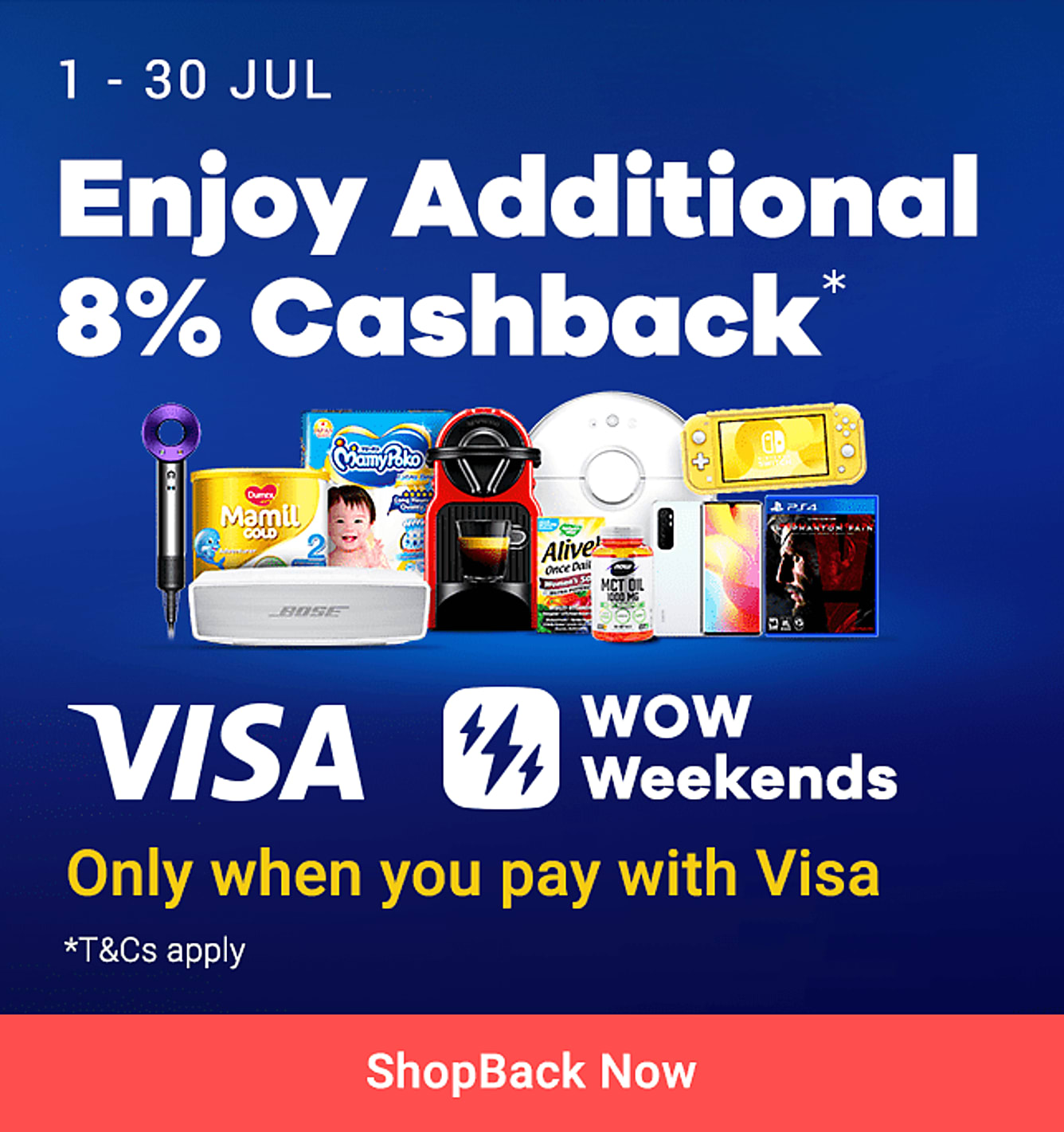 visa wow weekend