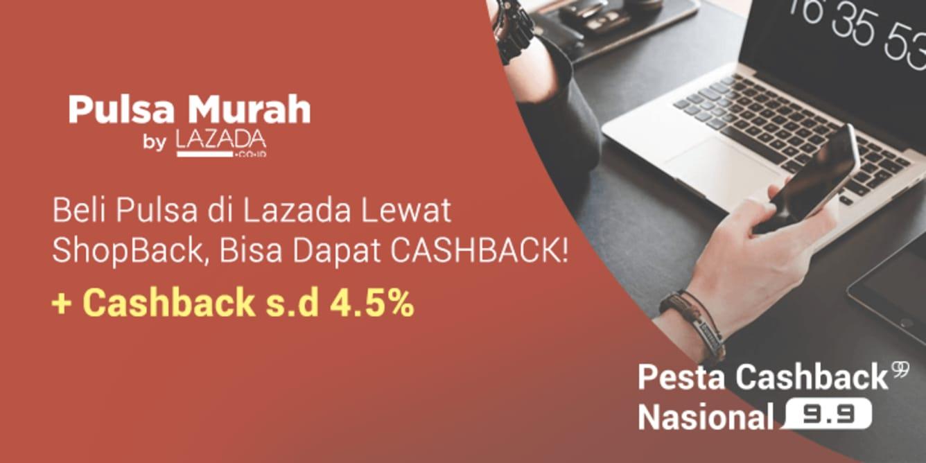 Pulsa murah Lazada