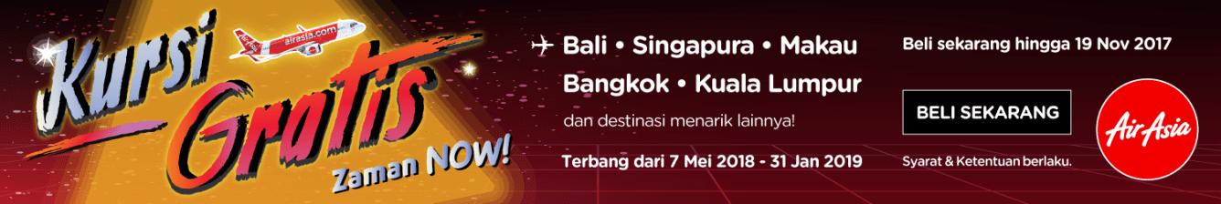 Promo AirAsia Kursi Gratis