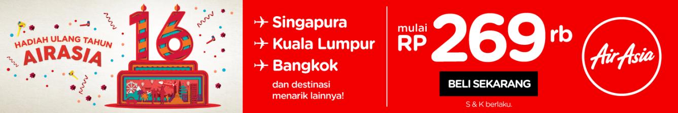 Promo Ulang Tahun AirAsia