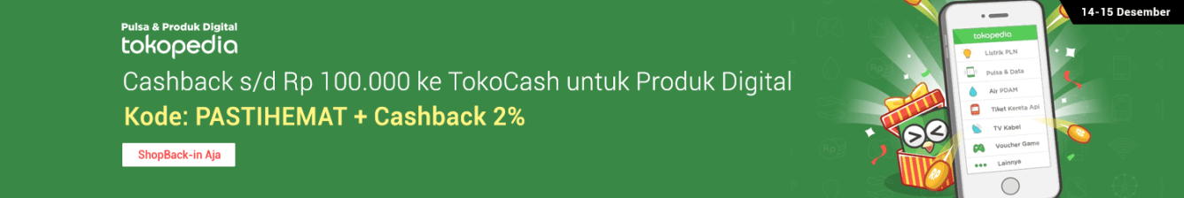 Produk Digital Tokopedia