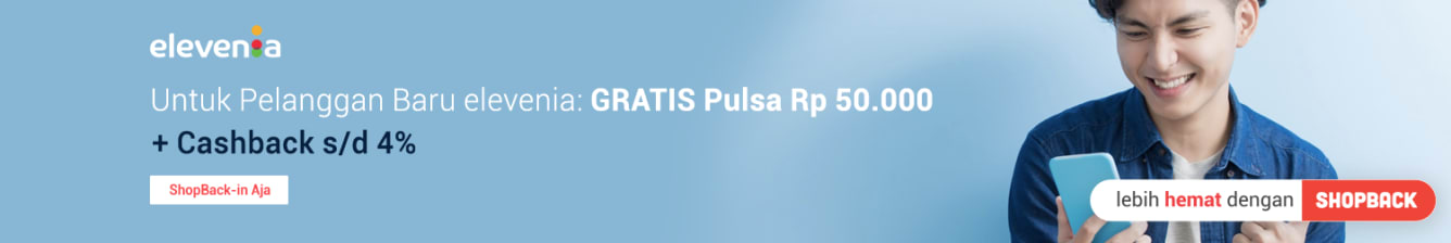 Week 8 - Pulsa GRATIS elevenia