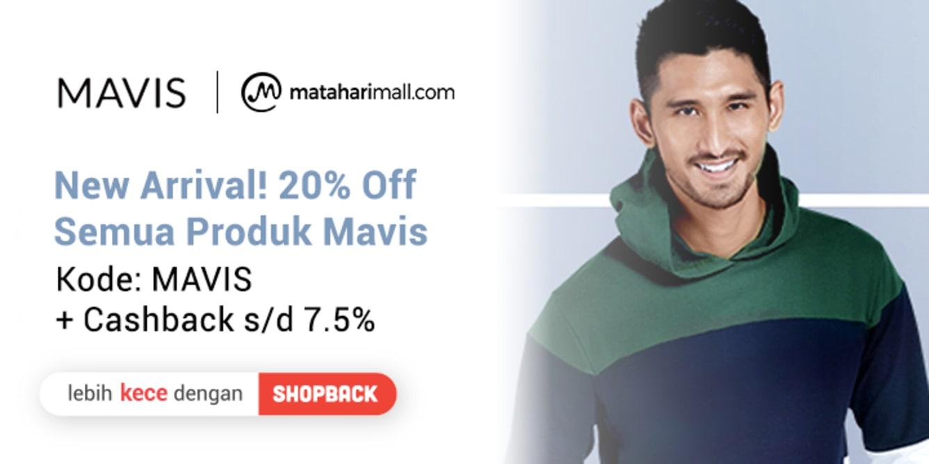 Week 17 - Promo Mavis MatahariMall