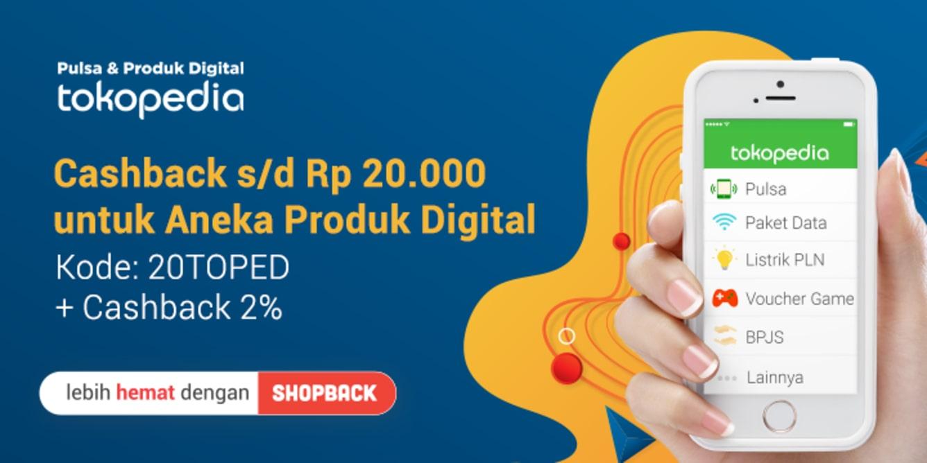 Week 17 - Promo Payday Pulsa Tokopedia