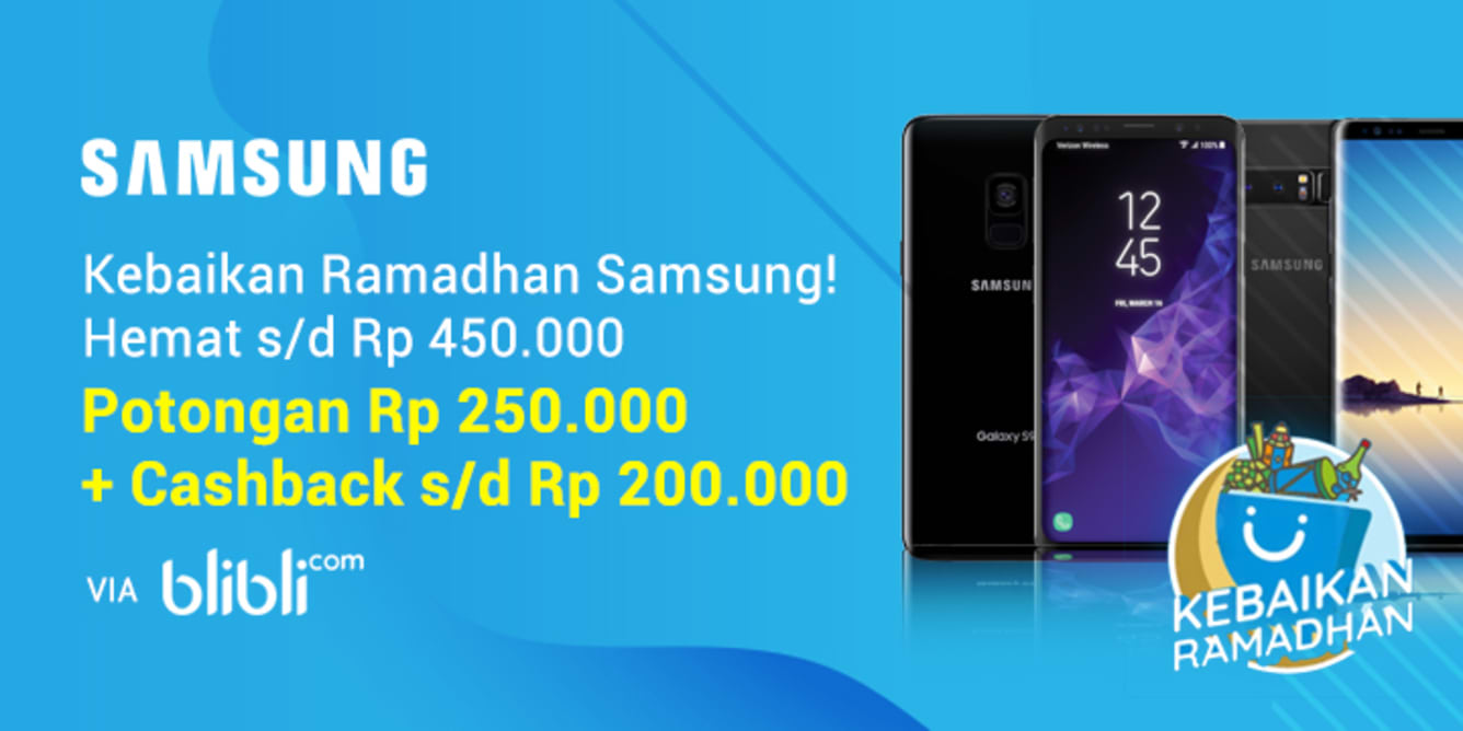 Week 21 - Super Samsung Blibli