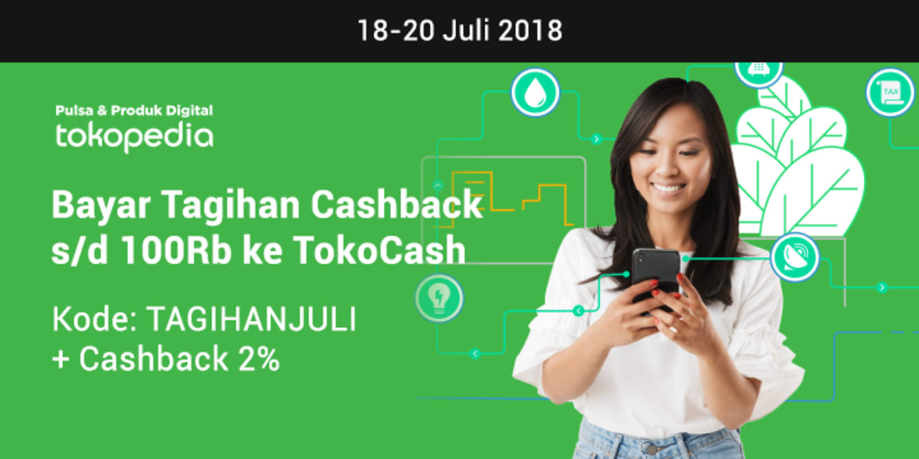 Week 28 - Promo Pulsa Tokopedia