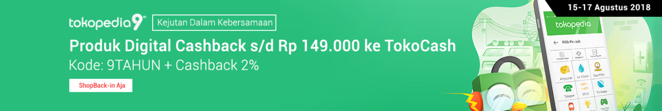 Week 32 - Promo Pulsa Tokopedia