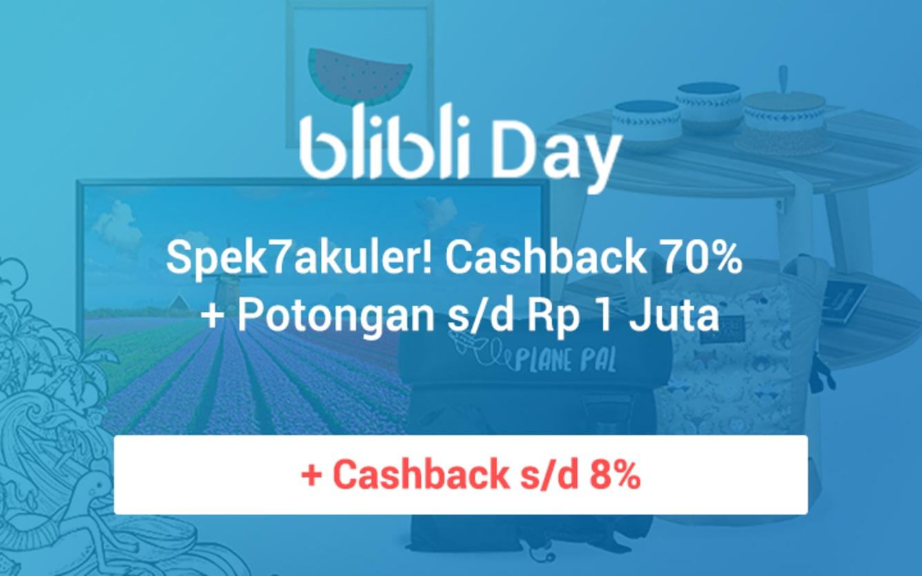 Week 37 - Promo Blibli Day Spek7akuler