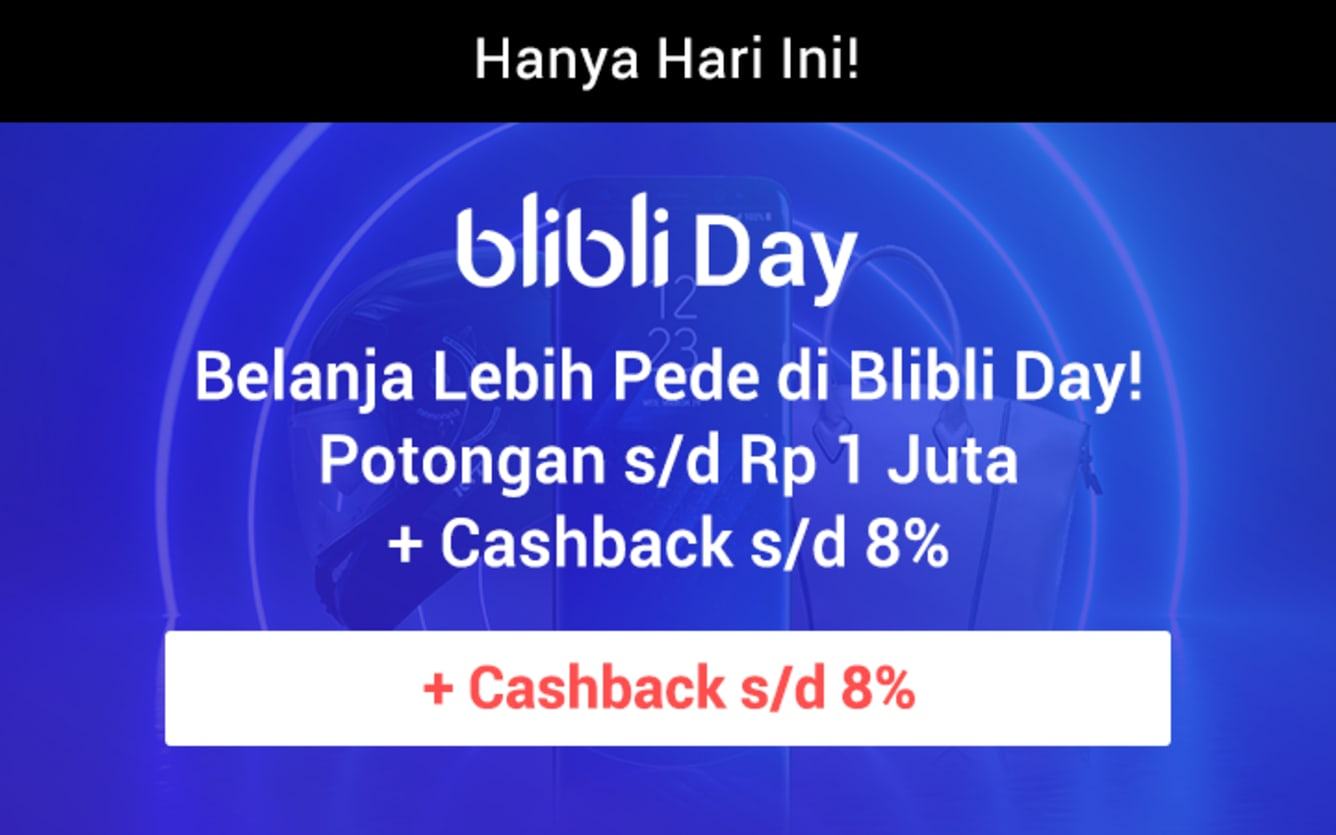 Week 37 - Promo Blibli Day