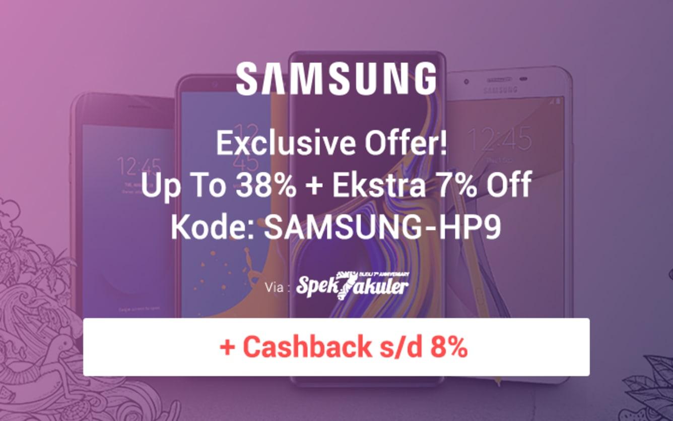 Week 38 - Promo Samsung Blibli