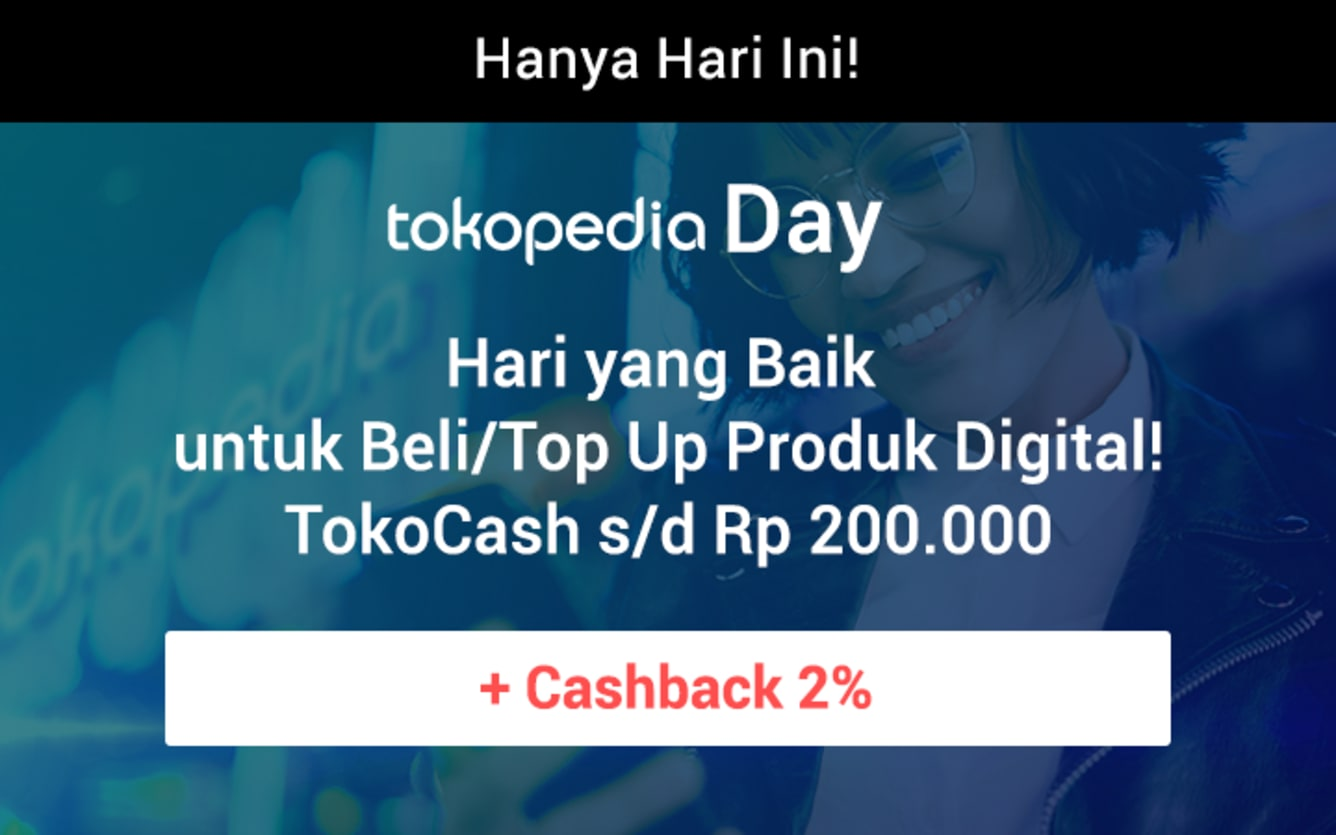 Week 41 - Promo Tokopedia Day
