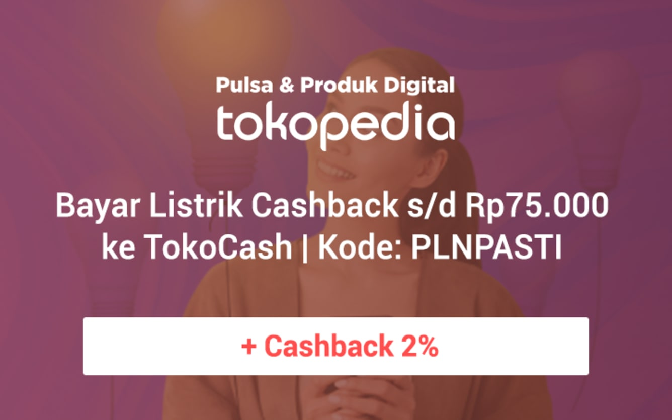 Week 42 - Promo Pulsa Tokopedia