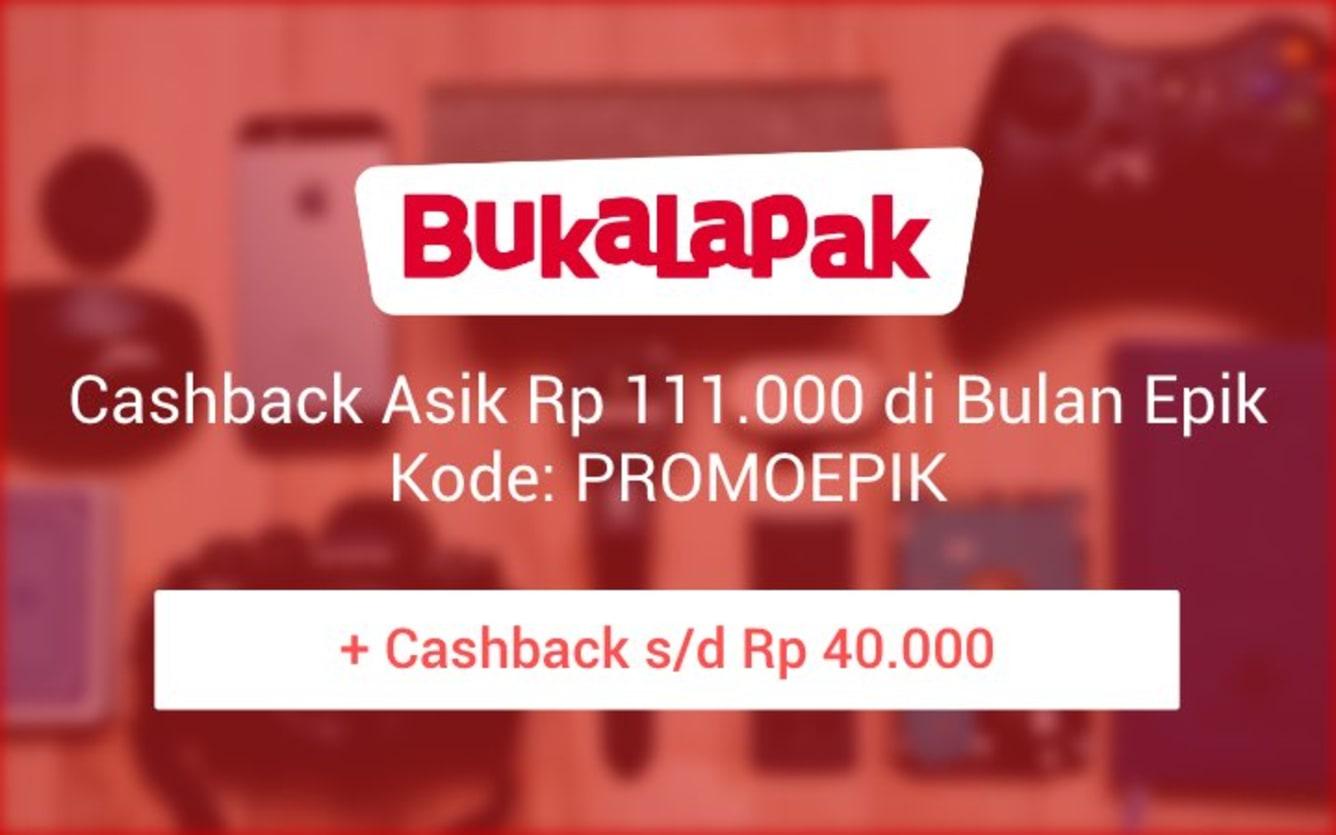 Week 45 - Promo Bukalapak