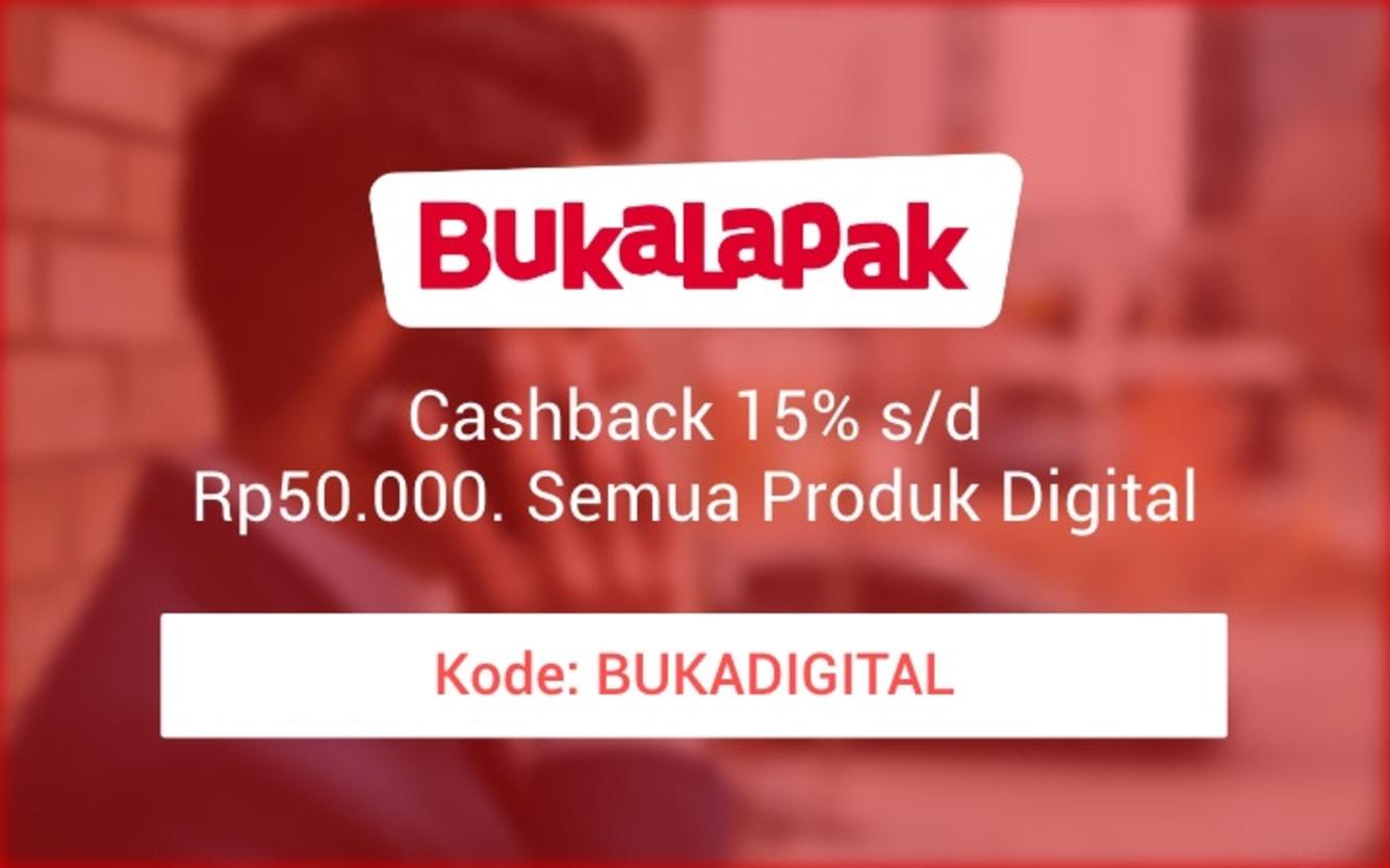 Week 45 - Promo Pulsa Bukalapak