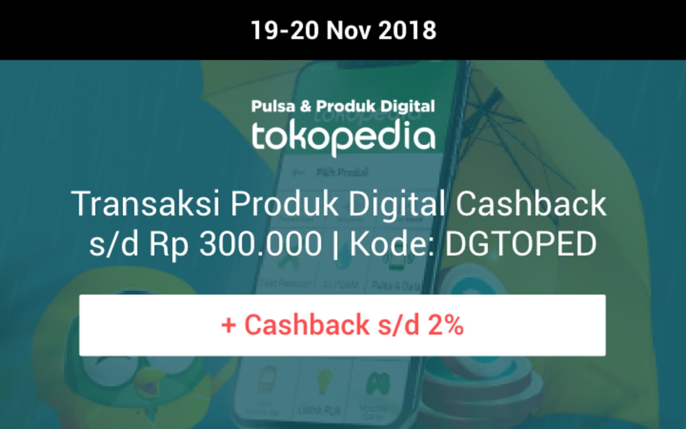 Week 46 - Promo Tokopedia
