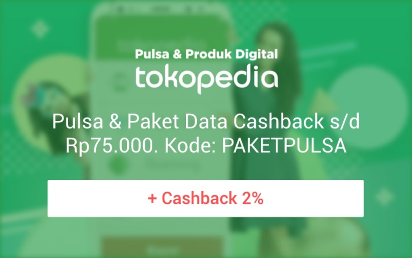 Week 49 - Promo Pulsa Tokopedia