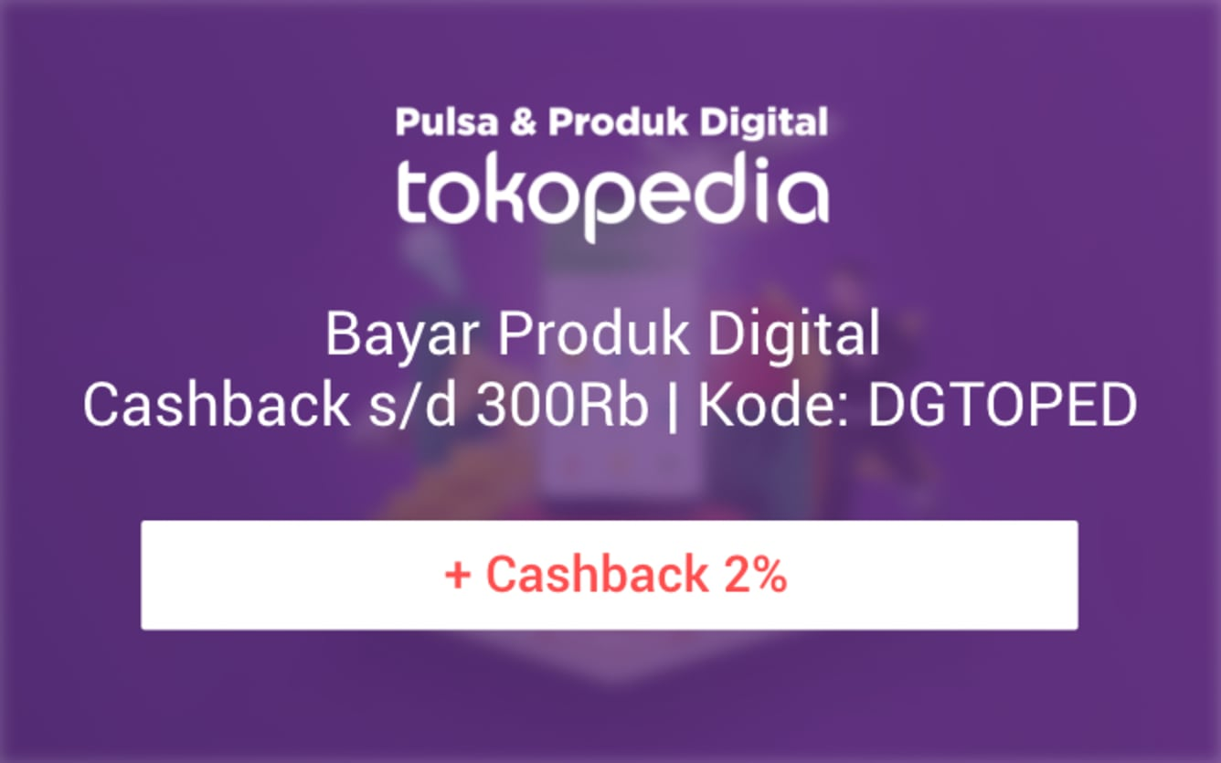 Week 50 - Promo Tokopedia