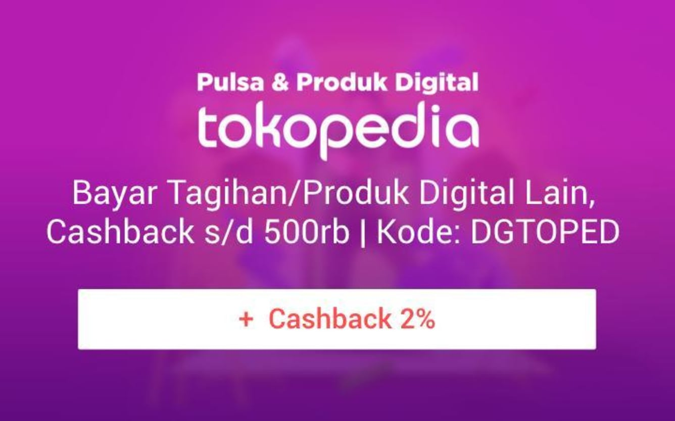 Week 3 - Promo Pulsa Tokopedia