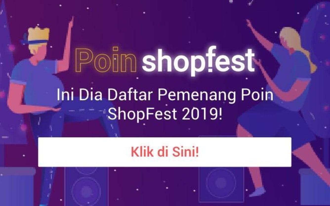 Week 3 - Pemenang Poin ShopFest