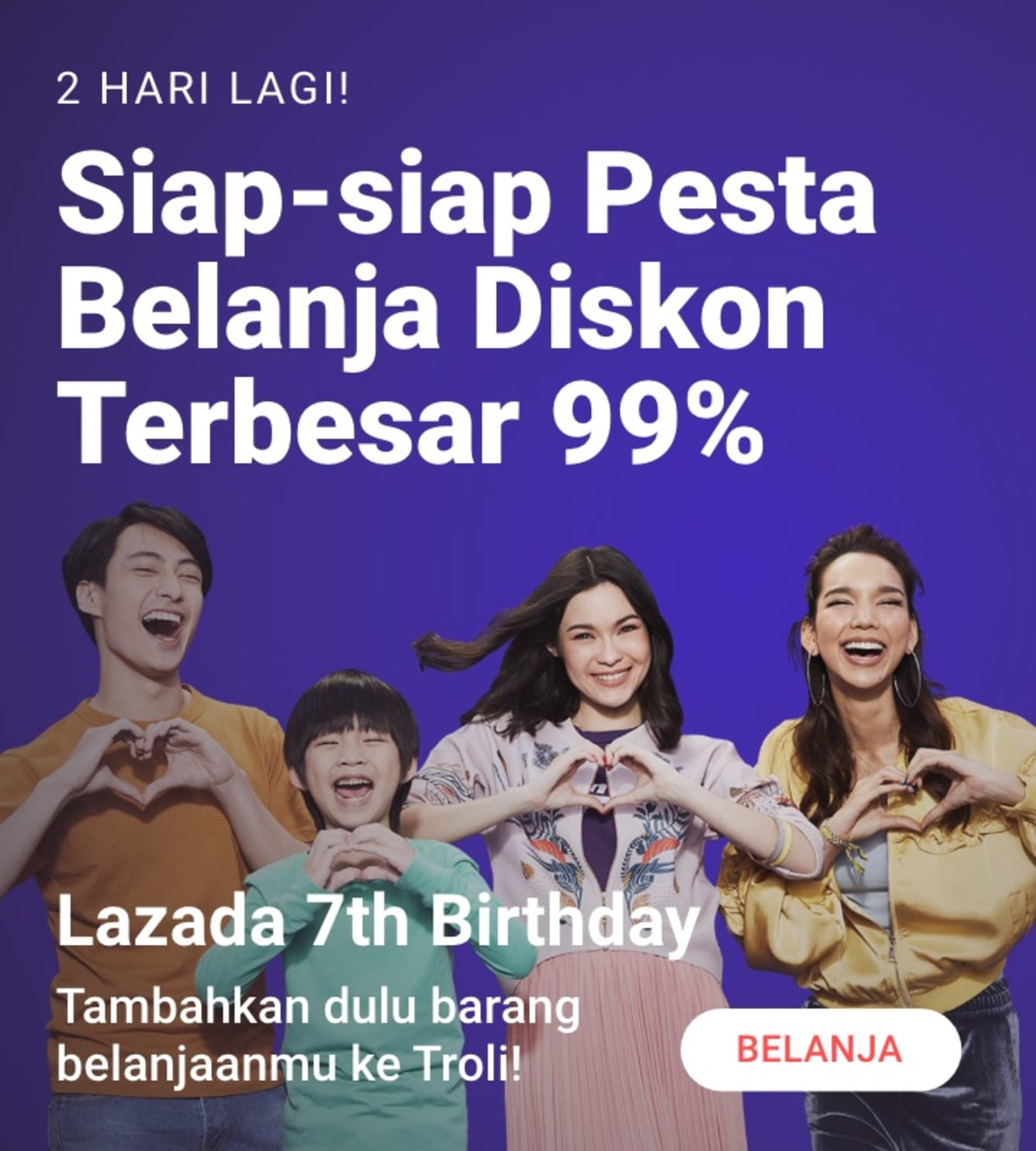 Week 13 - Promo Lazada Birthday