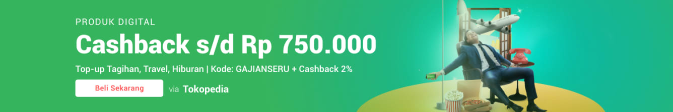 Week 13 - Promo Pulsa Tokopedia