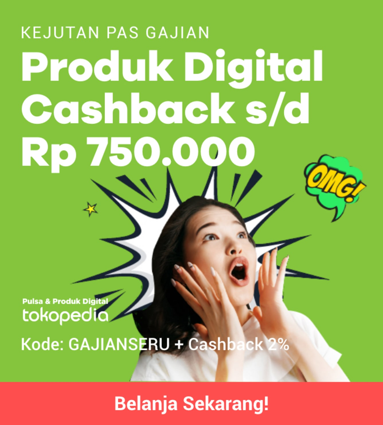 Week 17 - Promo Pulsa Tokopedia