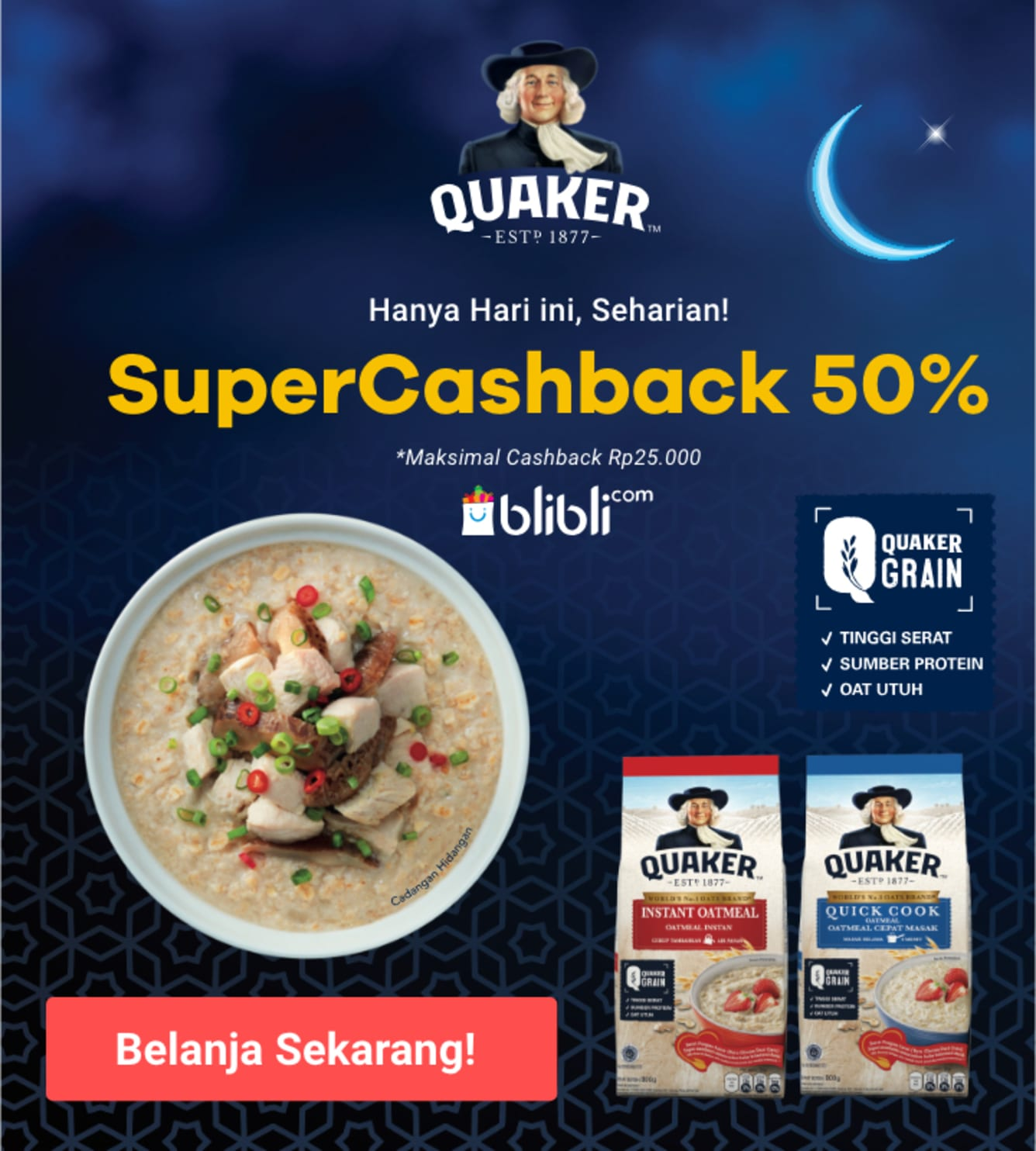 Week 20 - Promo Quaker Oats