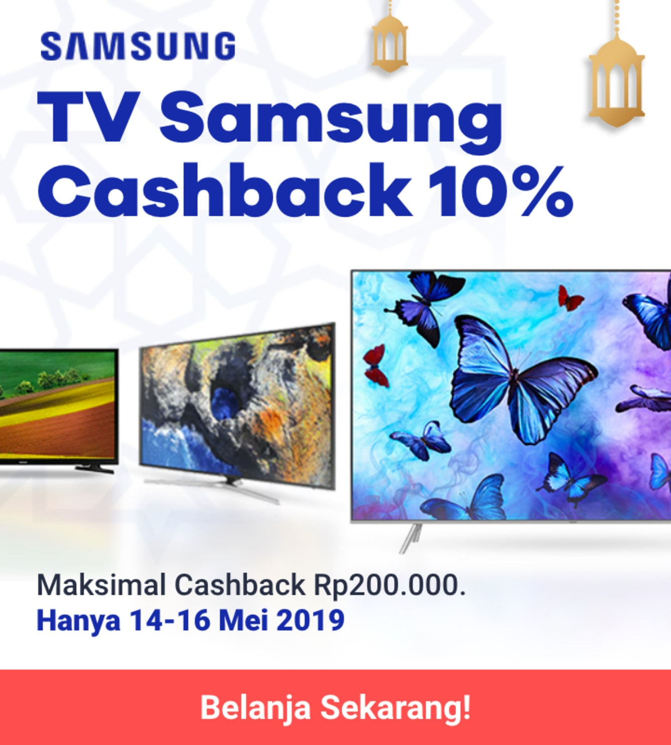 Week 20 - Promo Samsung TV