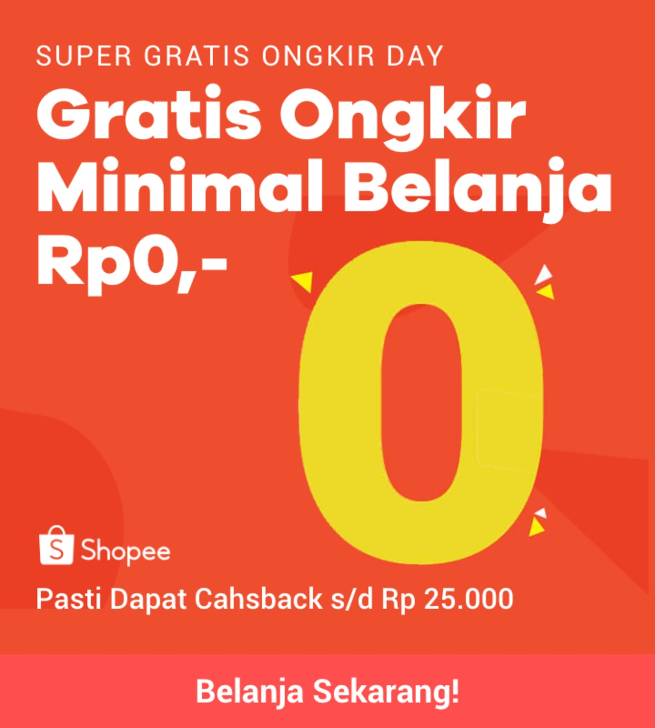 Week 20 - Shopee Free Ongkir
