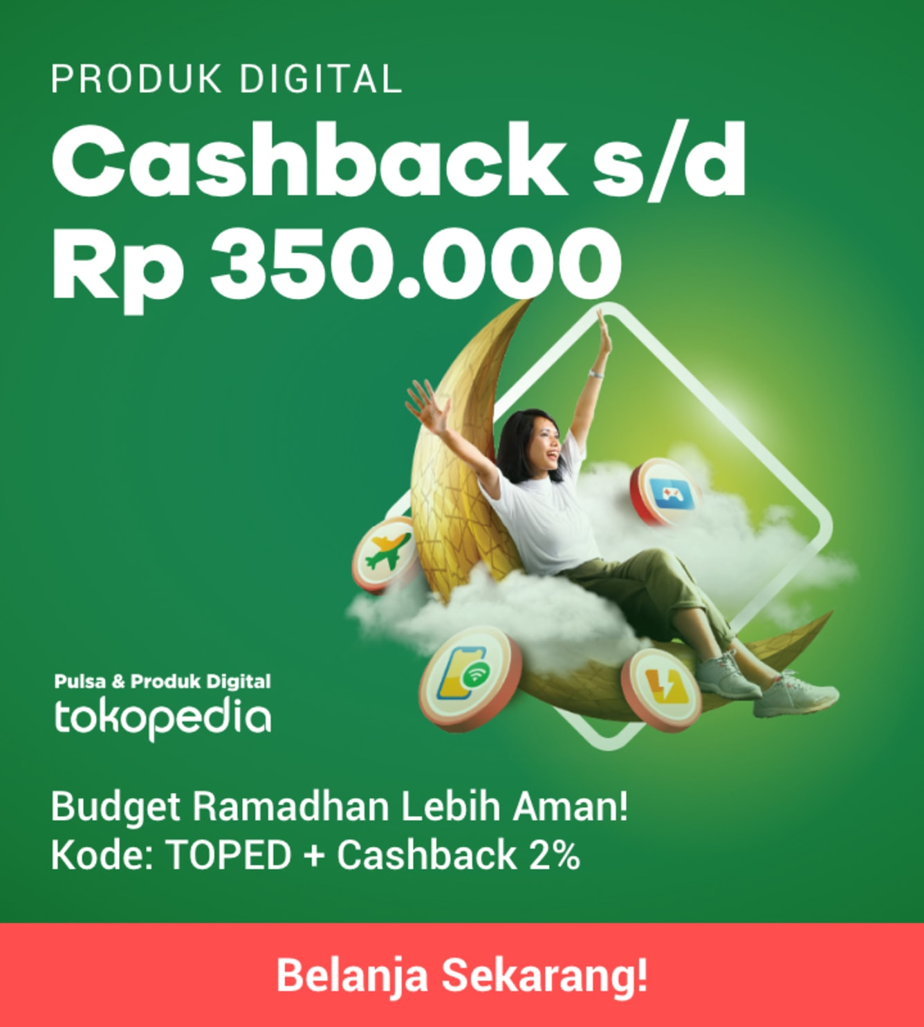 Week 21 - Promo Pulsa Tokopedia