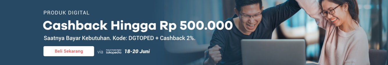 Week 25 - Promo Pulsa Tokopedia