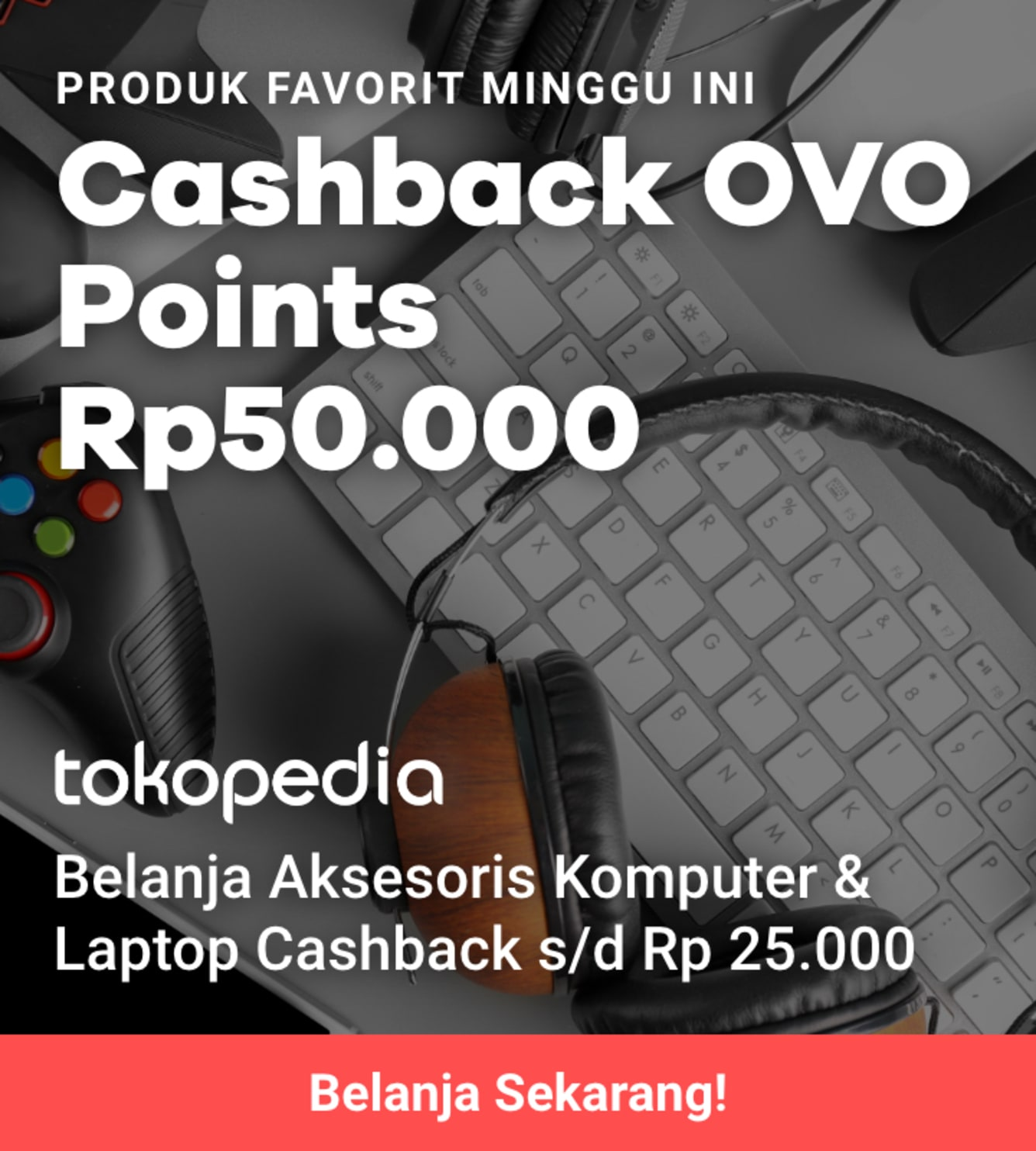 Week 30 - Promo Tokopedia RGX