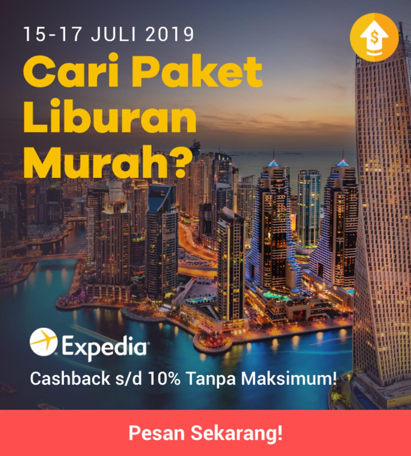 Week 29 - Promo Expedia