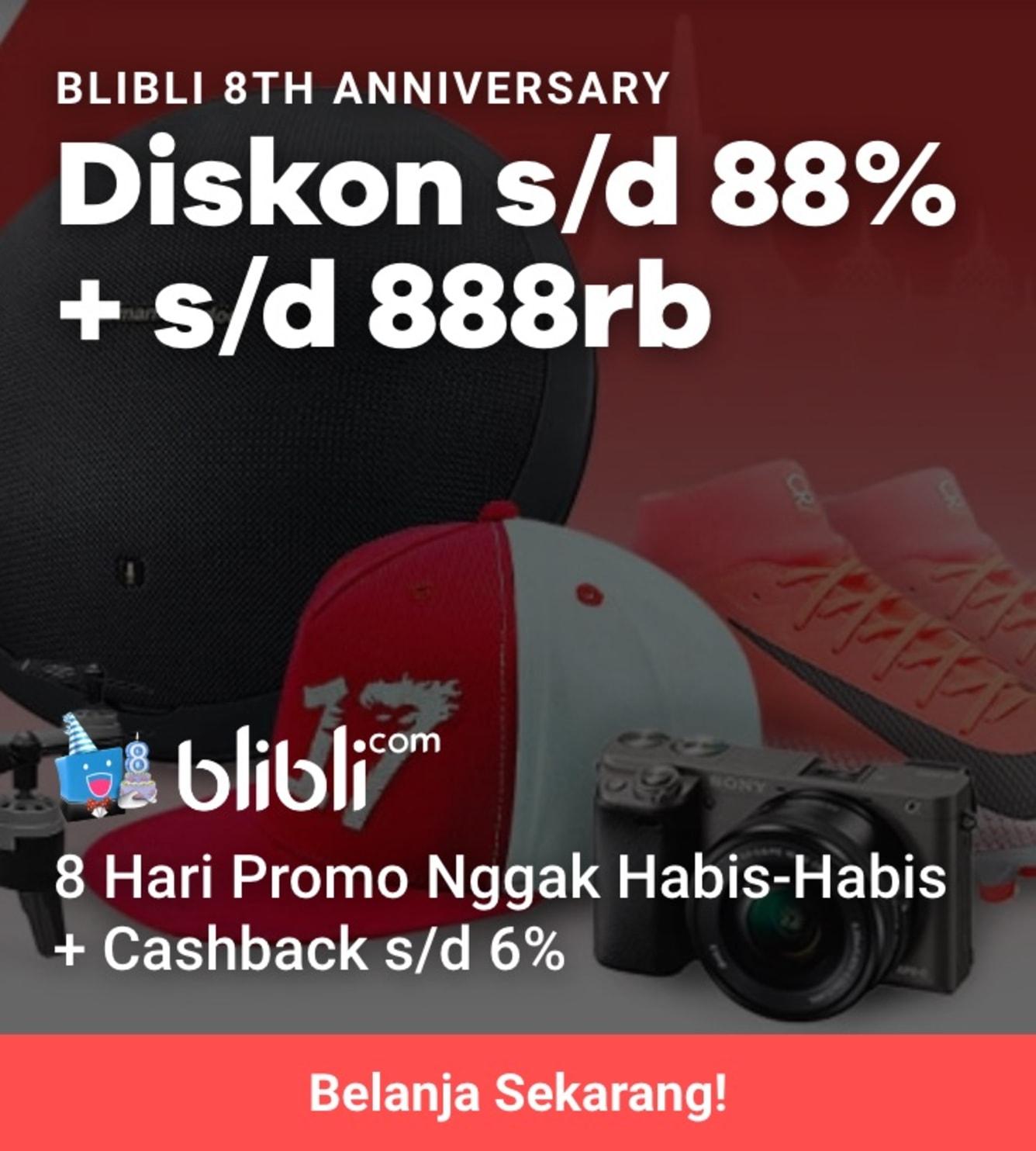 Week 34 - Promo Blibli