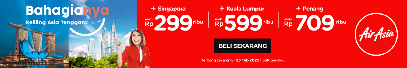 Week 34 - Promo AirAsia