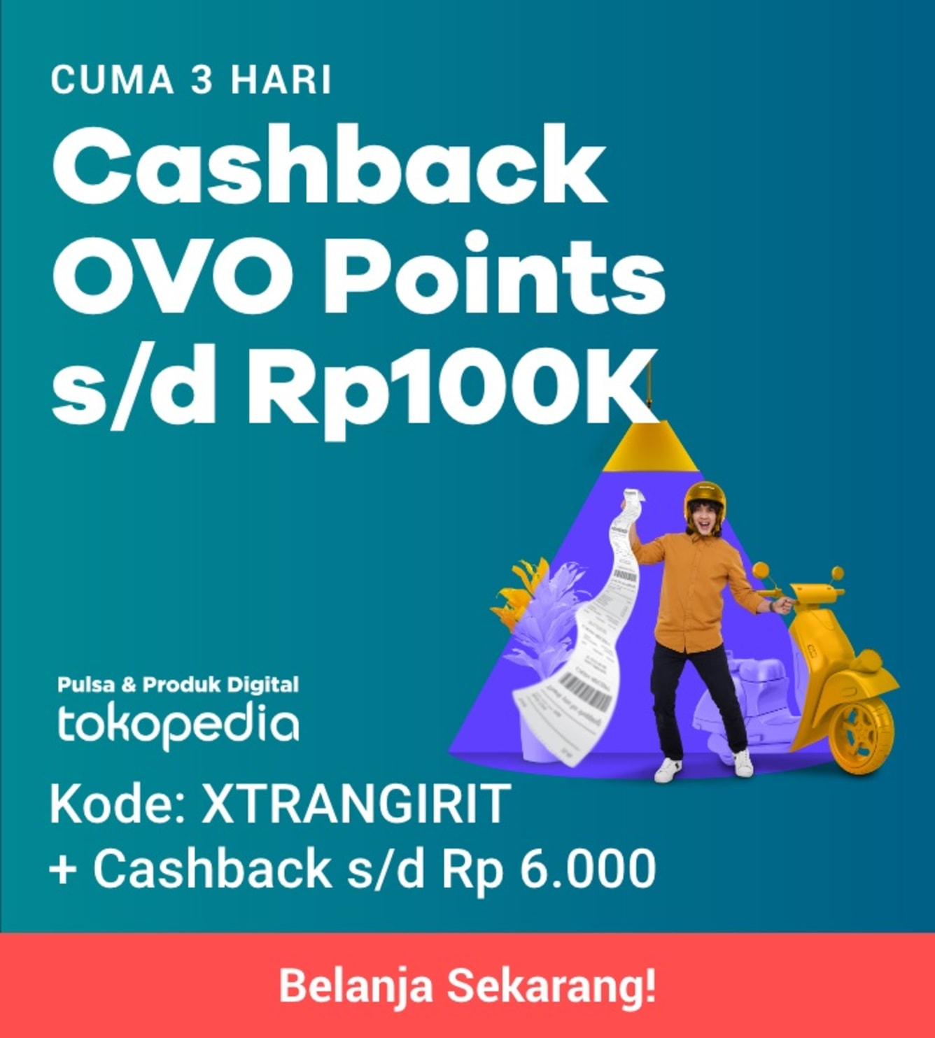 Week 38 - Promo Pulsa Tokopedia