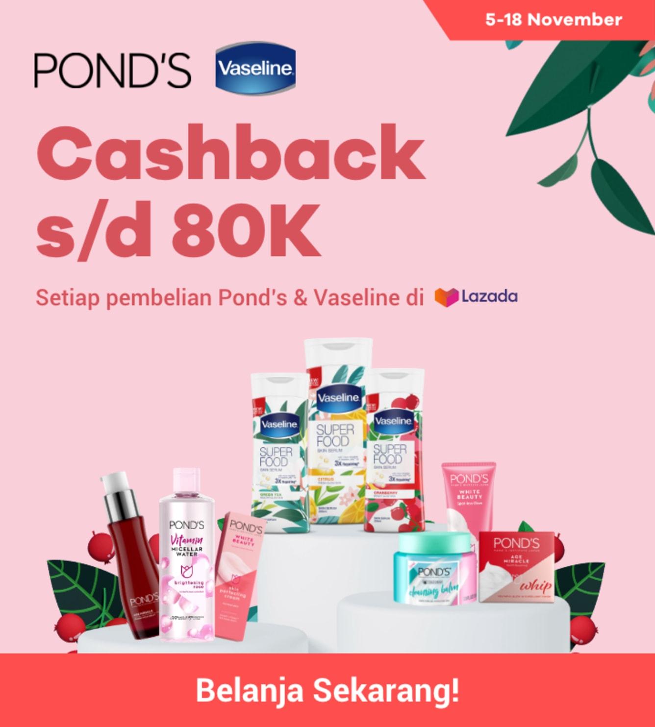Week 45 - Promo Pond's