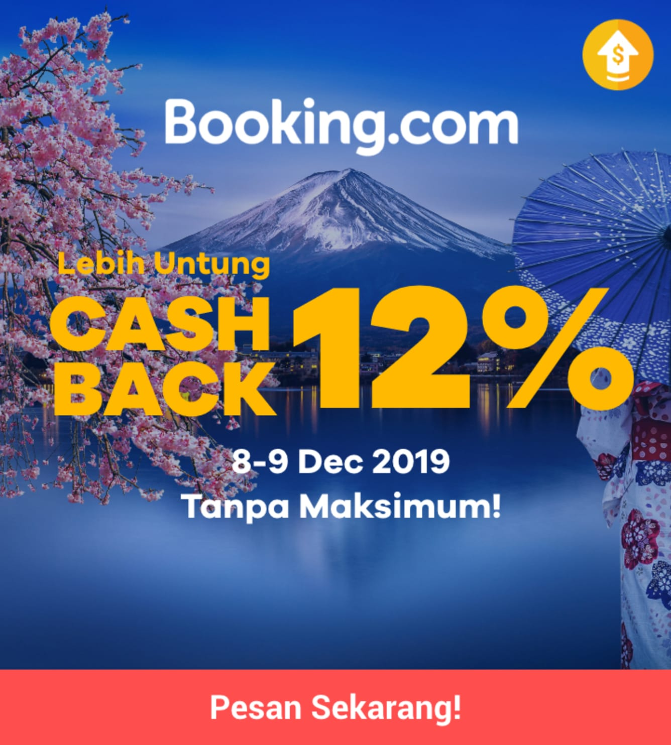 Week 49 - Promo Booking Double Cashback