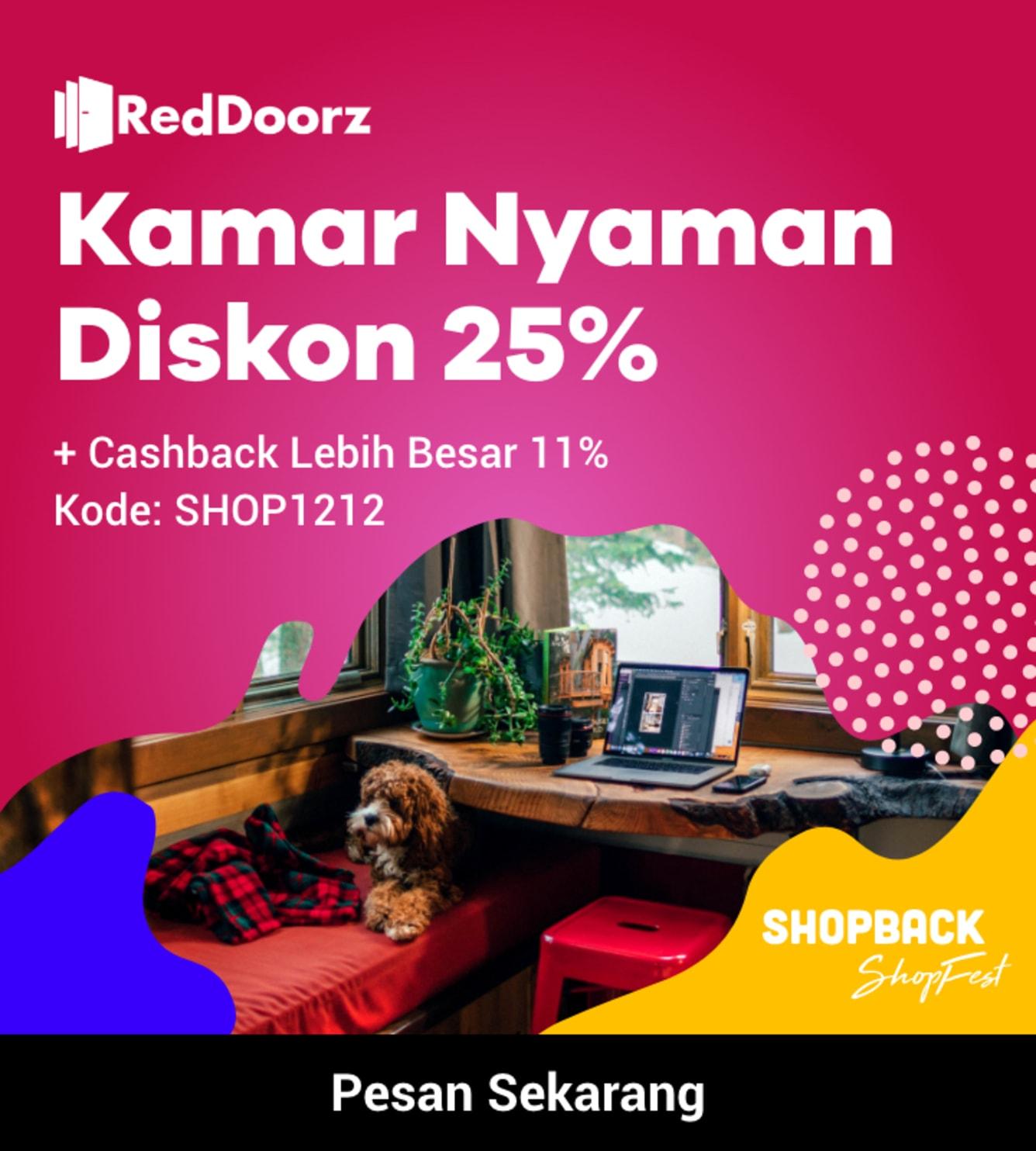 Week 50 - Promo RedDoorz 12.12