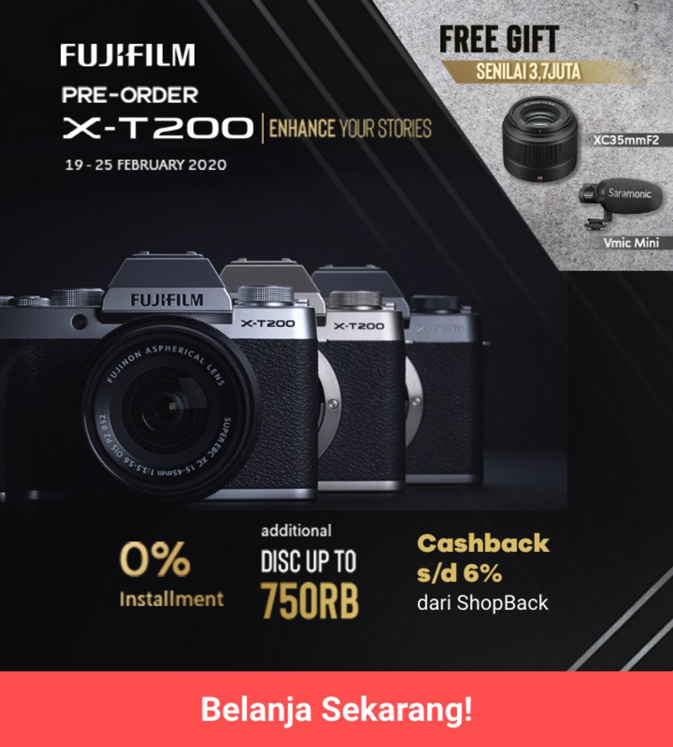 Week 9 - Promo Fujifilm