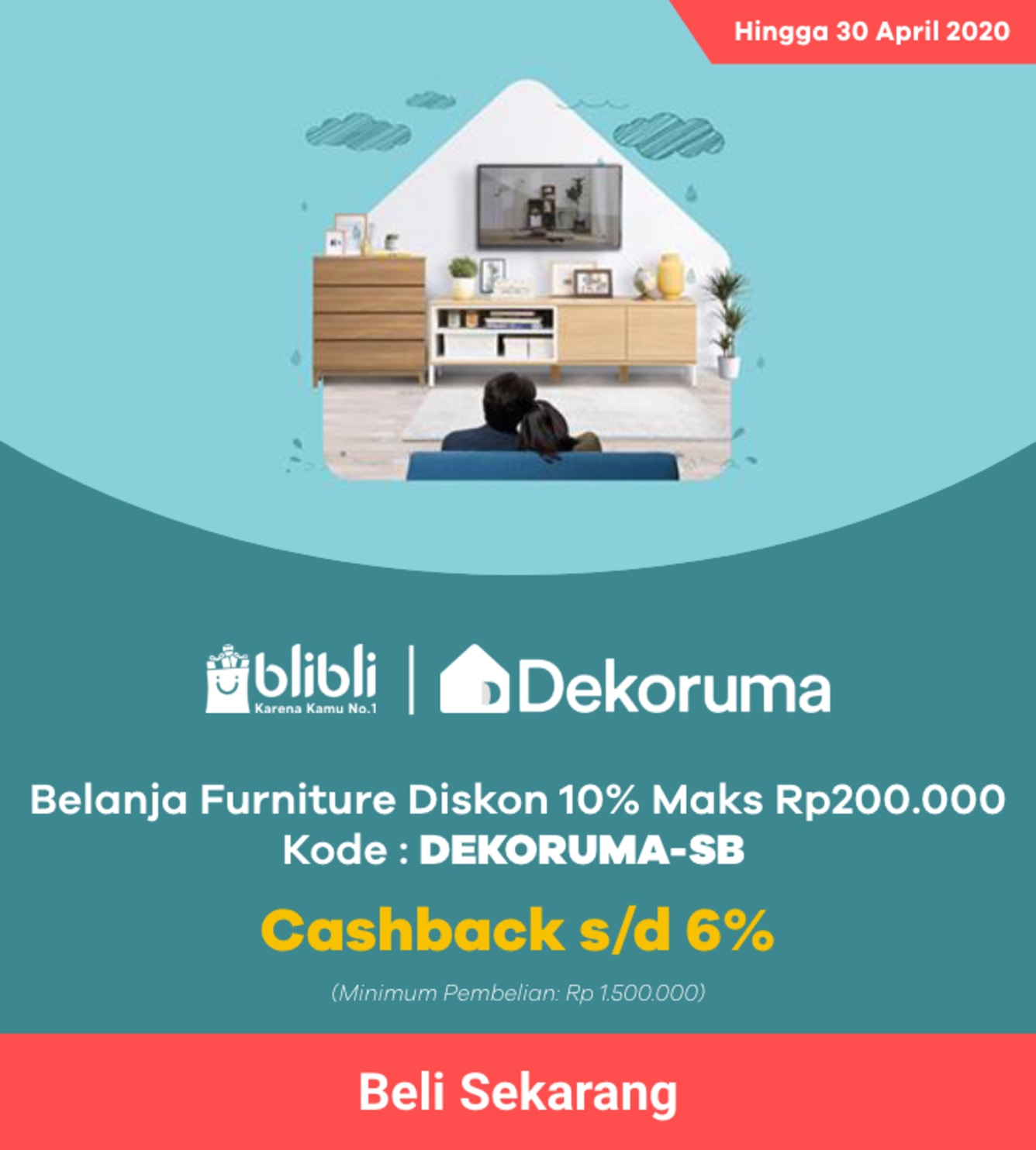 Week 14 - Promo Blibli Dekoruma