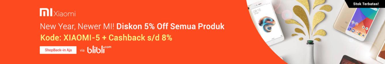 Week 4 - Blibli Xiaomi 5%