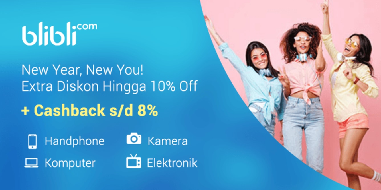 Week 3 - Promo Elektronik Blibli 10% Off