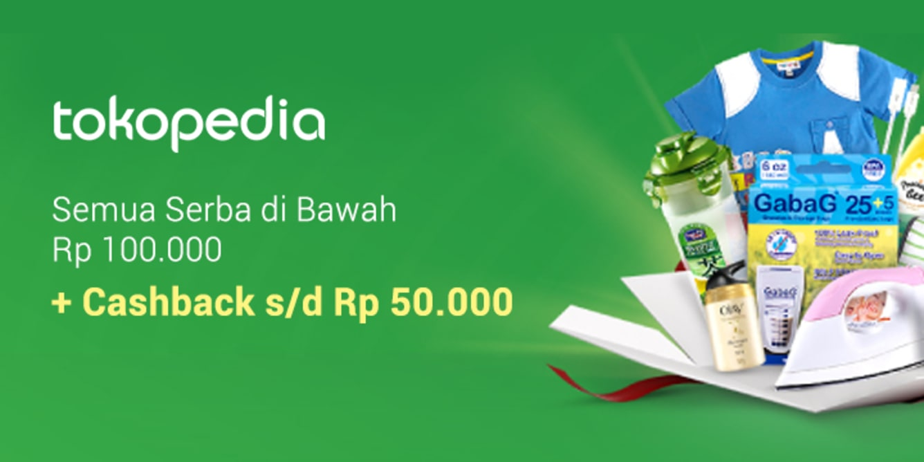 Tokopedia Under 100k