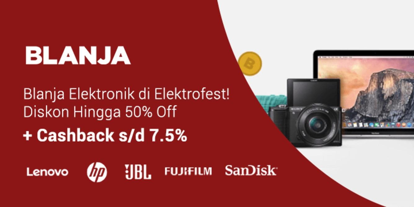 Blanja.com Elektrofest