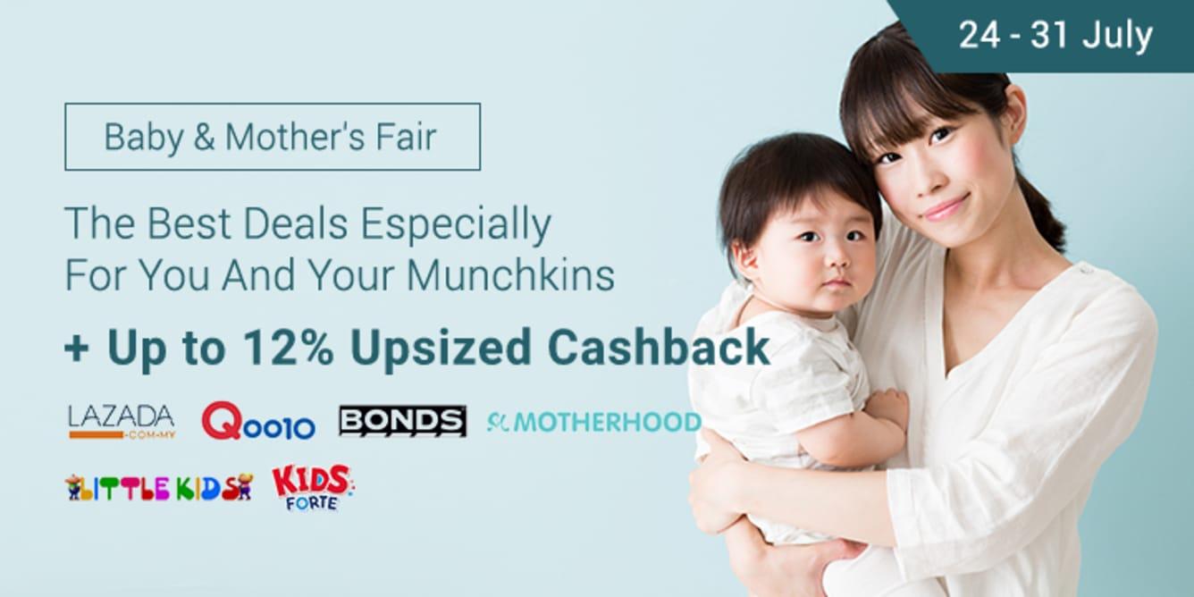 Shopback Baby & Mother's Fair Up To 11% Cashback Lazada
