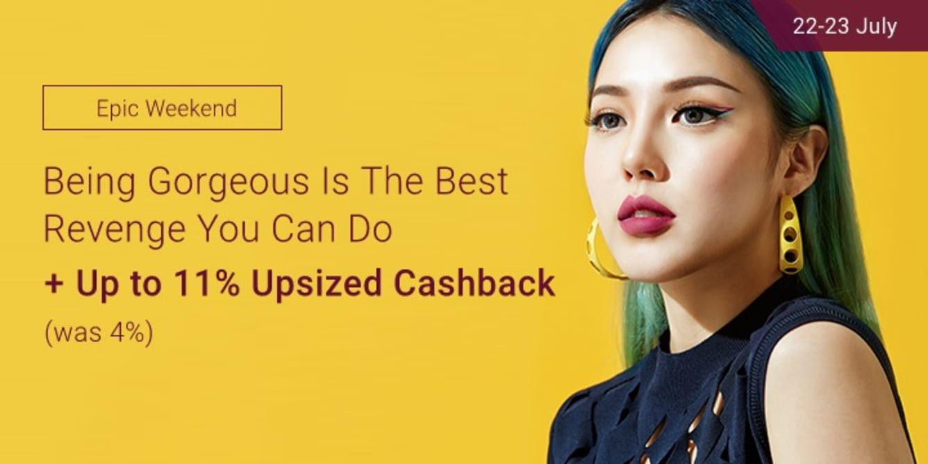 Weekend Beauty Fair Up to 11% Upsized Cashback Hermo